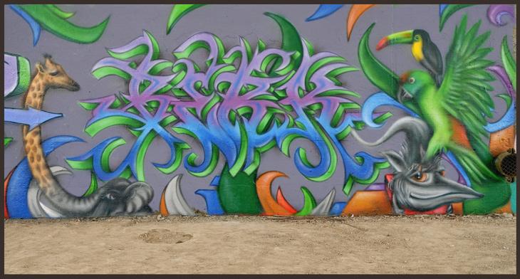 Wandgestaltung BERK 2014